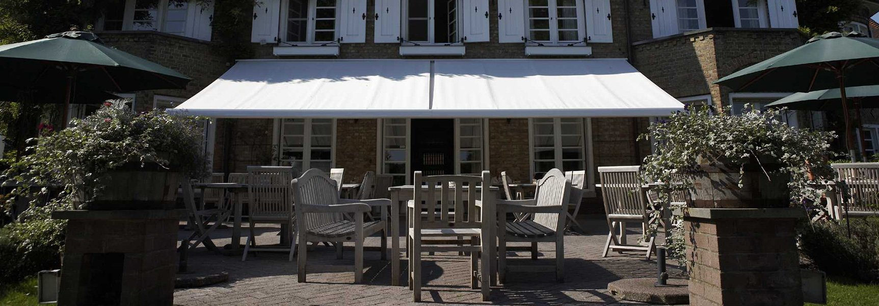 Retractable Restaurant Awnings Broadview Outdoor Shading
